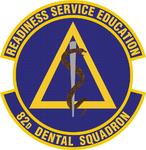82 Dental Sq emblem.png