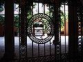 8712 - Milano - Cancello del Palazzo Borromeo d'Adda in Via Manzoni - Foto Giovanni Dall'Orto, 13-Sept-2007.jpg