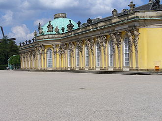 1747 in architecture - Sanssouci, Potsdam