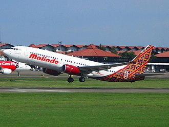 Malindo Air - Malindo Air Boeing 737-800 at Soekarno–Hatta International Airport, Tangerang, Banten