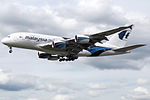 9M-MND A380 Malaysian (14787662825).jpg