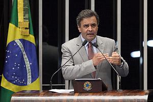 Aécio Neves - Aécio at the Senate on 25 June 2013