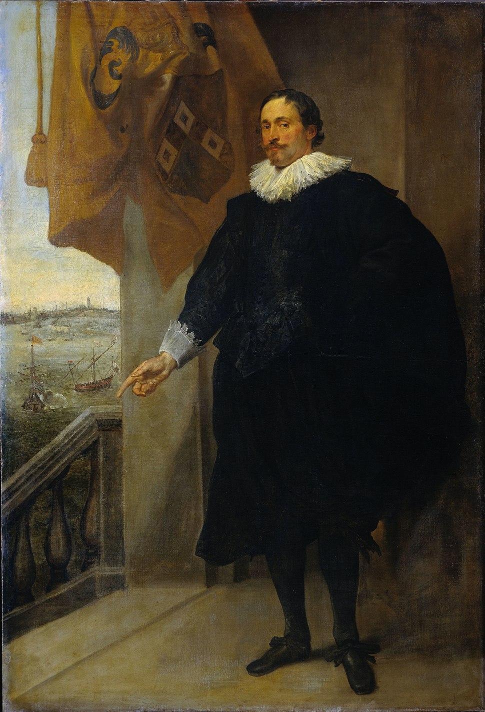 A. van Dyck Portrait of Nicolaes van der Borght 1625-1635