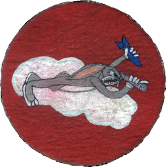 Army Air Forces Bombardier School - 1943 AAF Bombardier School patch for Carlsbad Army Airfield with Bugs Bunny