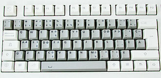 QWERTY - The CSA keyboard