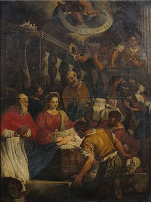 Leandro Bassano - The Adoration of the Shepherds