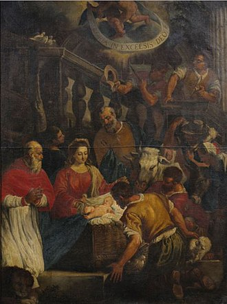 Thekla M. Bernays - The Adoration of the Shepherds, Follower of Leandro Bassano; Bernays gave this to the Brooklyn Museum.