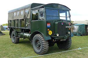 AEC Matador - Preserved Matador artillery tractor, Beltring 2011