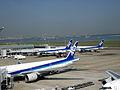 ANA B777s and B767 at Haneda (4059701745).jpg