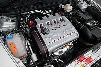 Alfa Romeo Twin Spark engine - 16-valve Twin Spark