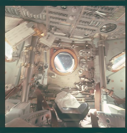 apollo capsule interior - HD1200×1200