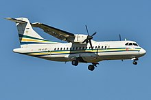 ATR 42-300M Gabon Government TR-KJD - MSN 131 (9900039856).jpg