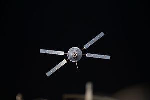 Johannes Kepler ATV - Johannes Kepler approaches the ISS on 24 February 2011.