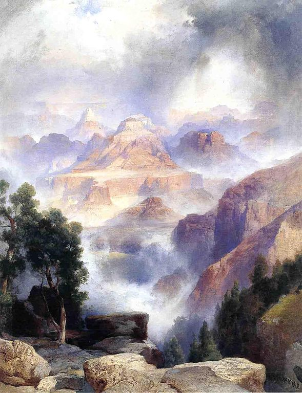 https://upload.wikimedia.org/wikipedia/commons/thumb/f/f0/A_Showery_Day_Grand_Canyon_Thomas_Moran_1919.jpeg/589px-A_Showery_Day_Grand_Canyon_Thomas_Moran_1919.jpeg