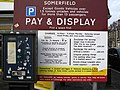 A Somerfield parking sign in Galashiels - geograph.org.uk - 1706718.jpg