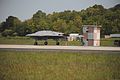 A U.S. Navy X-47B Unmanned Combat Air System (UCAS) demonstrator completes its first shore-based arrested landing at Naval Air Staion, Patuxent River, Md., May 4, 2013 130504-N-ZZ999-102.jpg