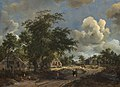 A View on a High Road-1665-Meindert Hobbema.jpg