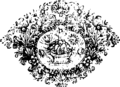 A compleat universal history, of the several empires, kingdoms, states etc Fleuron T114404-8.png