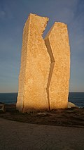 A ferida - The Wound obelisk - Muxía Spain.jpg