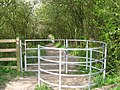 A modern Kissing Gate on the Footpath from Wilstone Reservoir - geograph.org.uk - 1251599.jpg