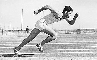 1932 Maccabiah Games - A sprinter at the 1st Maccabiah.