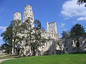 Robert of Jumièges - Ruins of the Abbey of Jumièges
