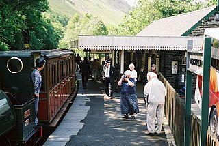 Abergynolwyn railway station