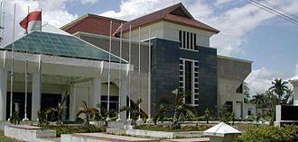 Syiah Kuala University - Rectorat building