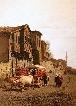 "Achille Formis - The ""Koçu"" Cart, 1870, Pera Museum, Istanbul"