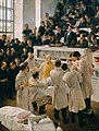 Adalbert Franz Seligmann - Der Billroth'sche Hörsaal im Wiener Allgemeinen Krankenhaus - 796 - Österreichische Galerie Belvedere.jpg