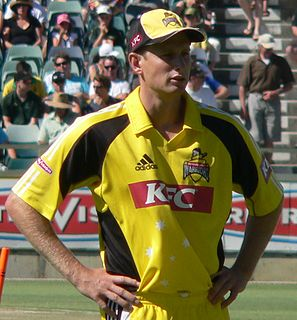 Adam Voges Australian cricketer