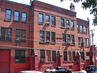 National Register of Historic Places listings in North Philadelphia - Image: Adamson School Philly