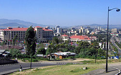 Addis Ababa cityscape Courtesy: whileseated.org