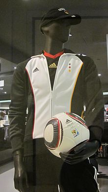 Adidas 2010 FIFA World Cup Germany gear.JPG
