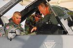 Adjutant General gets fighter wing introduction at Mach 1 090707-F-9244N-008.jpg