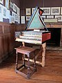 Adlam Burnett 1983 Harpsichord - Finchcocks House museum (geograph.co.uk 2925018, by Oast House Archive).jpg