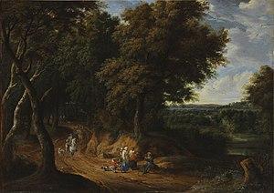 Adriaen Frans Boudewijns - Path in the forest
