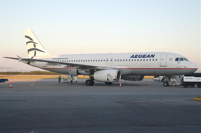 File:Aegean Airlines Airbus A320-232; SX-DVJ@KGS;12.06.2011 600ab (5832993532).jpg