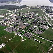 Aerial View of the Johnson Space Center - GPN-2000-001112