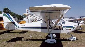 Aeropro Eurofox - A tri-gear Aeropro Eurofox with Aerotrek A240 titles at Lakeland, Florida, in April 2009