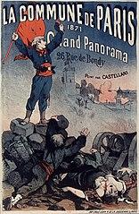 Poster of the Paris Commune 1871