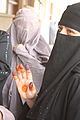 Afghan Woman at Polling Station MOD 45156207.jpg
