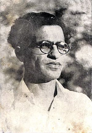 Ahmad Nadeem Qasmi - Qasmi in May 1949