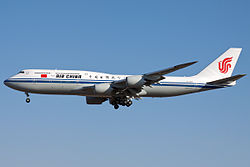 Boeing 747-8 der Air China