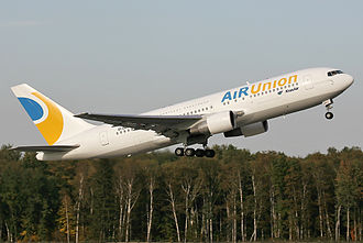 KrasAir - Image: Air Union Boeing 767 200