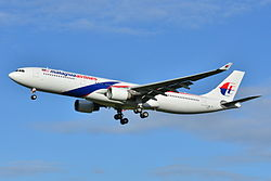 Airbus A330-300 der Malaysia Airlines