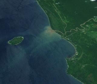 Aitape Place in Sandaun Province, Papua New Guinea