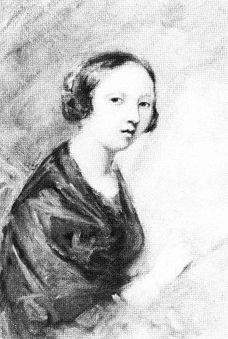 Vera Aksakova - self portrait