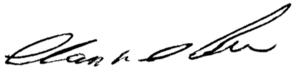 Alan DeBoer - Image: Alan De Boer signature