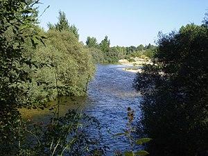 Alberche - The Alberche near Aldea del Fresno